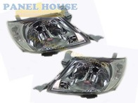Headlight PAIR Clear Type Fits Toyota Hilux Ute 2008-2011