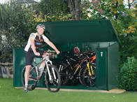 Shed for bike