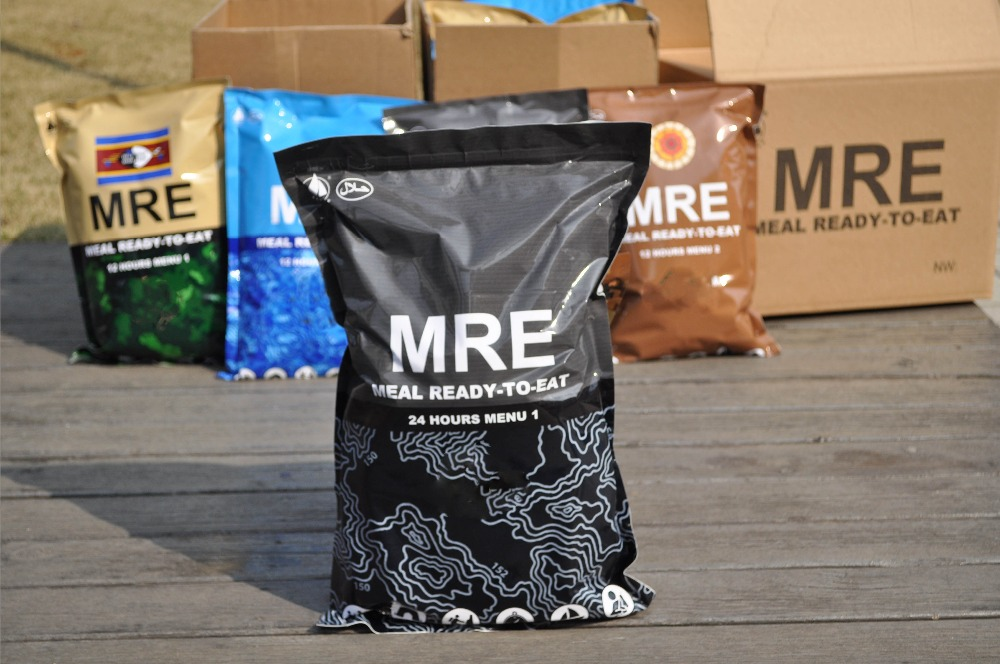 MRE Meals are great alternatives for lightweight food