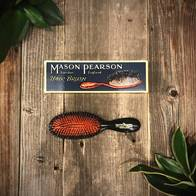 Mason Pearson Handy Bristle & Nylon Darkruby Hairbrush