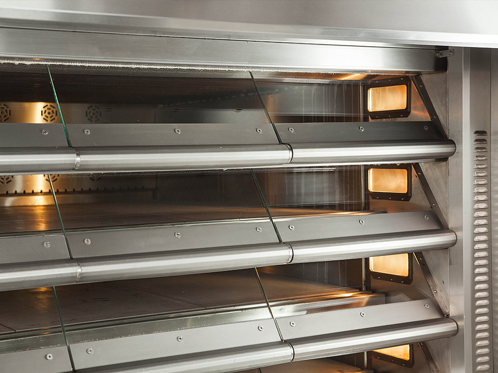 Convection ovens are the most popular in bakeries.