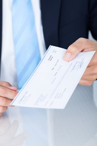 Keep control of cheque signing