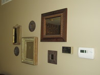 Disguise thermostats and gadgetry with art