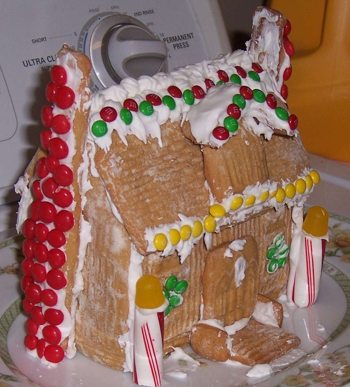 Quit making Gingerbread Houses with raw egg white