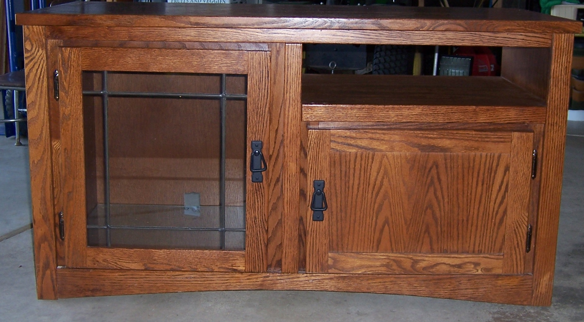 Cut Down That Old Entertainment Center To Make Room For Your New Flat Screen