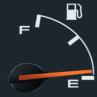 Trick to Knowing Where Your Gas Tank Is