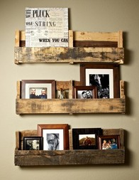 Re-purpose old wood pallets