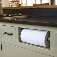 Faux Drawer Paper Towel Holder