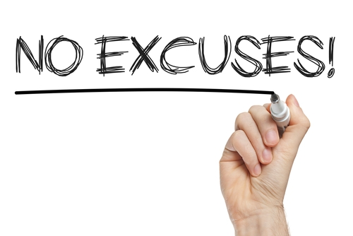 I hear sales excuses all the time. I