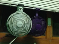 Use Clip-On Fans to Cool Down a Room