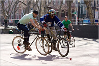 Saddle Up For Bike Polo