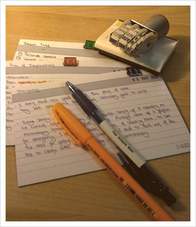 Organize Your Note Cards