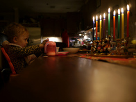 Use Tinfoil to Keep Your Menorah Clean