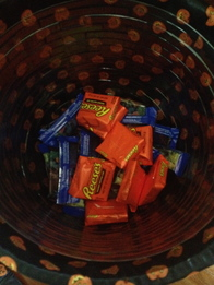 Freeze Half of Your Halloween Candy