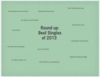 Round Up:Best Singles of 2013