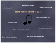 Round Up:Best Albums of 2013