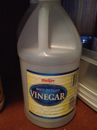 Use Vinegar as De-Icer