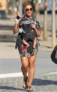 Top 10 Maternity Styles from Beyonce!