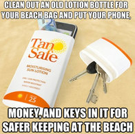 Protect More Than Your Skin with a Sunscreen Bottle