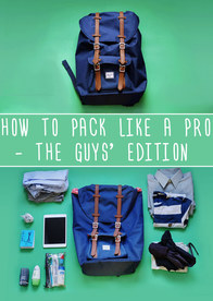 Men: How To Pack Like A Pro For Every Occasion
