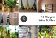 15 Smart Ways To Turn An Empty Wine Bottle Into A Beautiful Work Of Art