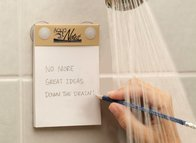 AquaNotes – Waterproof Paper Notepad To Capture Creativity In The Shower