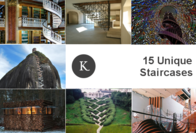 15 Mesmerizing Examples of Staircases