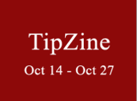 Oct 14 - 27  Peterborough's TipZine