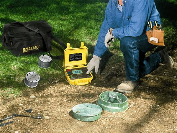 Test Equipment offers a selection of ground resistance