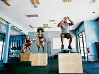 Cross Your Body Goals Off the List with a Plyometric Crossfit Box