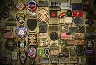 Morale Patches Military and Civilian Identifiers