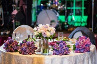 Mirror centerpieces