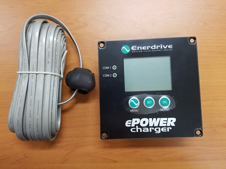 The Enerdrive ePOWER charger can be programmed for