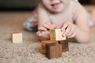 Childrens Wooden Play Blocks