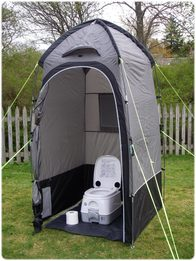 Camping Bathroom and Laundry