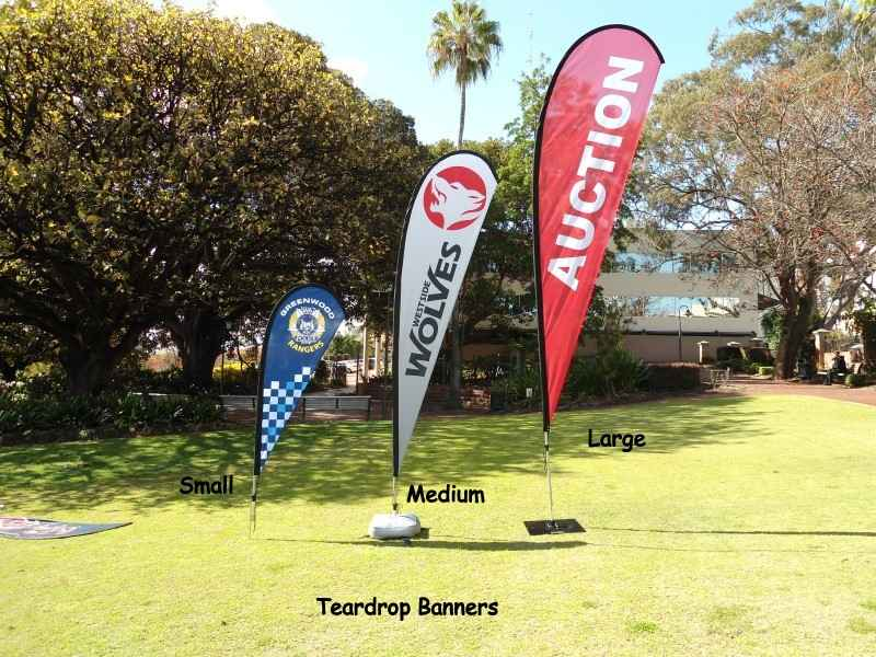 Wide range of flags banners in different sizes
