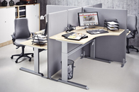 Adjustable Height Workstation Desks