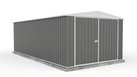 Absco Eco-Nomy 3.00mW x 5.96mD x 2.06mH Utility Shed - Woodland Grey